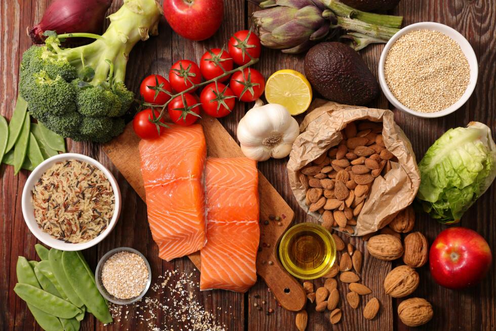 VARIERT KOST: Ifølge Nordstrand er mettet fett noe kroppen vår har bruk for, blant annet immunforsvaret vårt. Her handler det derimot om å finne en balanse i kostholdet.  Foto: Shutterstock / margouillat photo