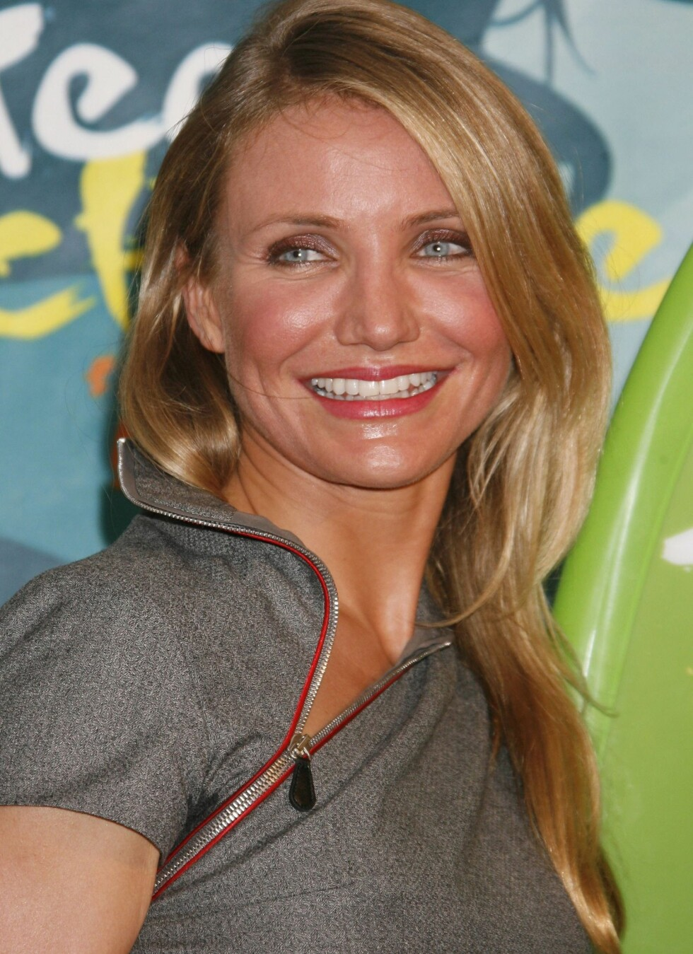 5. Cameron DiazSkuespiller Cameron Diaz brede smil holdt til en femteplass i magasinets kåring.  Foto: All Over Press