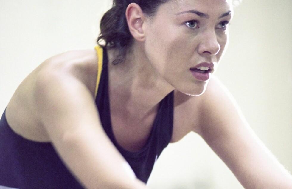 - Spinning er den ubestridte ener blant de morgenfriske, sier treningsekspert.  Foto: Colourbox