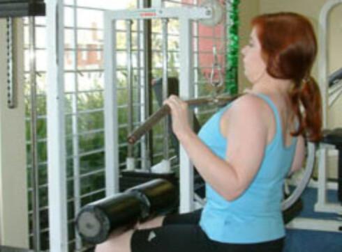 <strong>RIKTIG NEDTREKK:</strong> Trekk ned foran hodet. Foto: commons.wikimedia.com