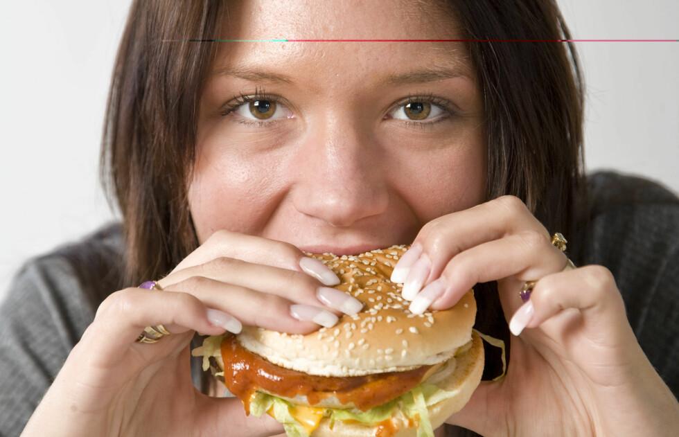 Det går an å holde seg under 400 kcal selv på Mc.Donald's.  Foto: Colourbox