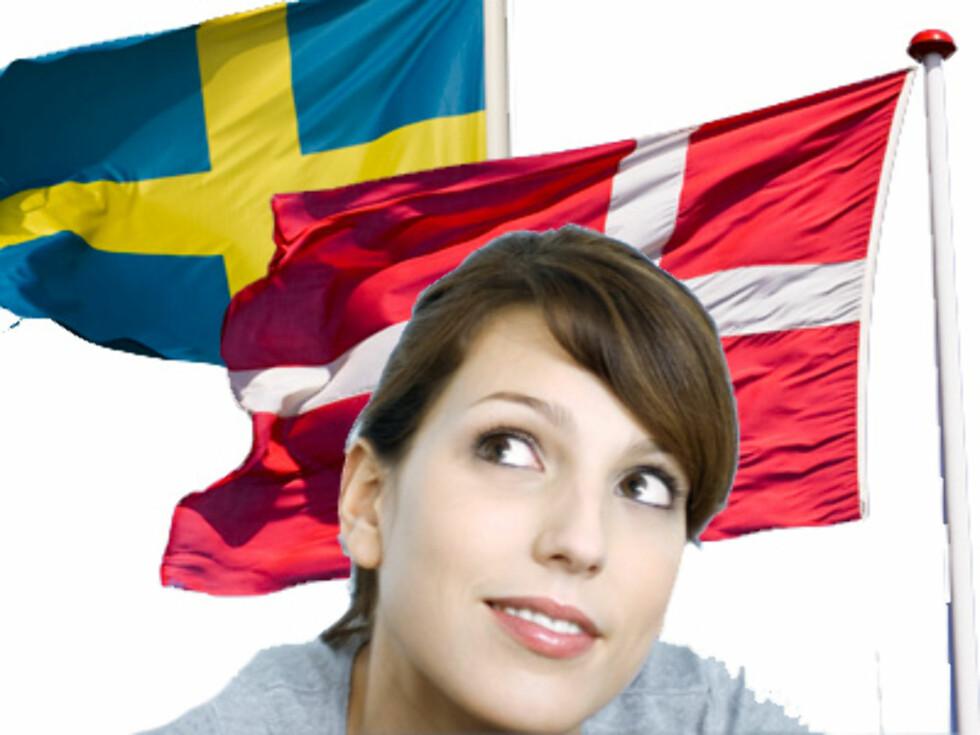 DANSKER ER BEDRE: Svenske menn er kåret til de tredje verste elskerne i verden - fordi de er for raske.