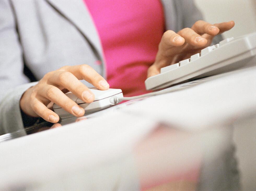 BAKTERIER: Ja, hvor ofte vasker du tastaturet ditt?  Foto: Eric Audras / PhotoAlto