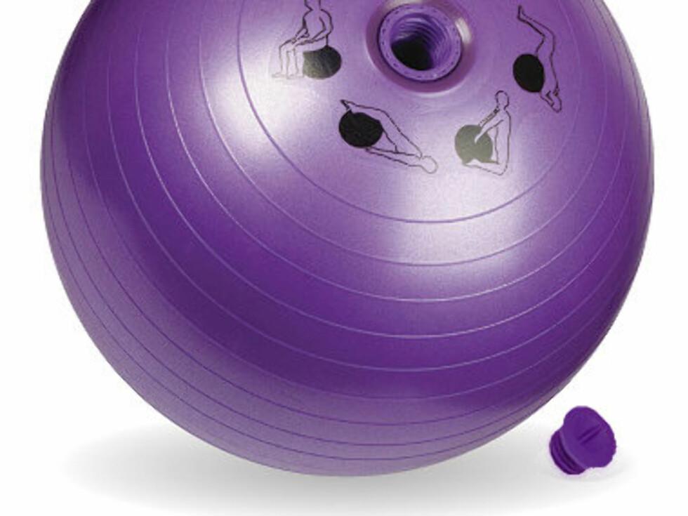 Den ligner en vanlig treningsball, men... Foto: Sexercise.me