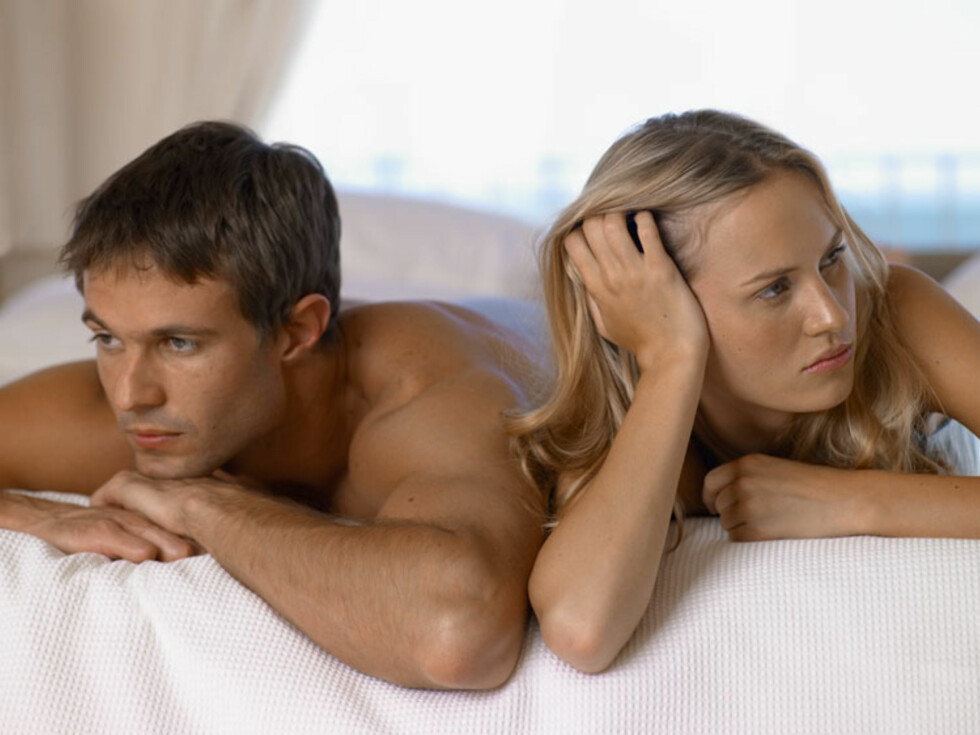 VANLIG PROBLEM: For tidlig utløsning er det vanligste seksuelle problemet for menn.  Foto: Image Source/AOP