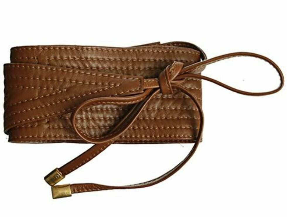 Dekorativt belte som gir midje (kr 700, Bruuns Bazaar).