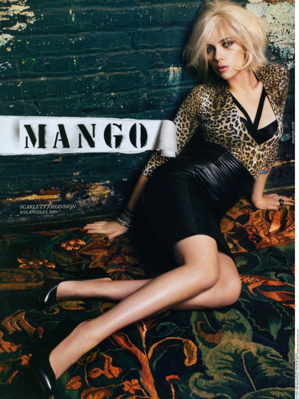 Scarlett Johansson for Mango.  Foto: All Over Press