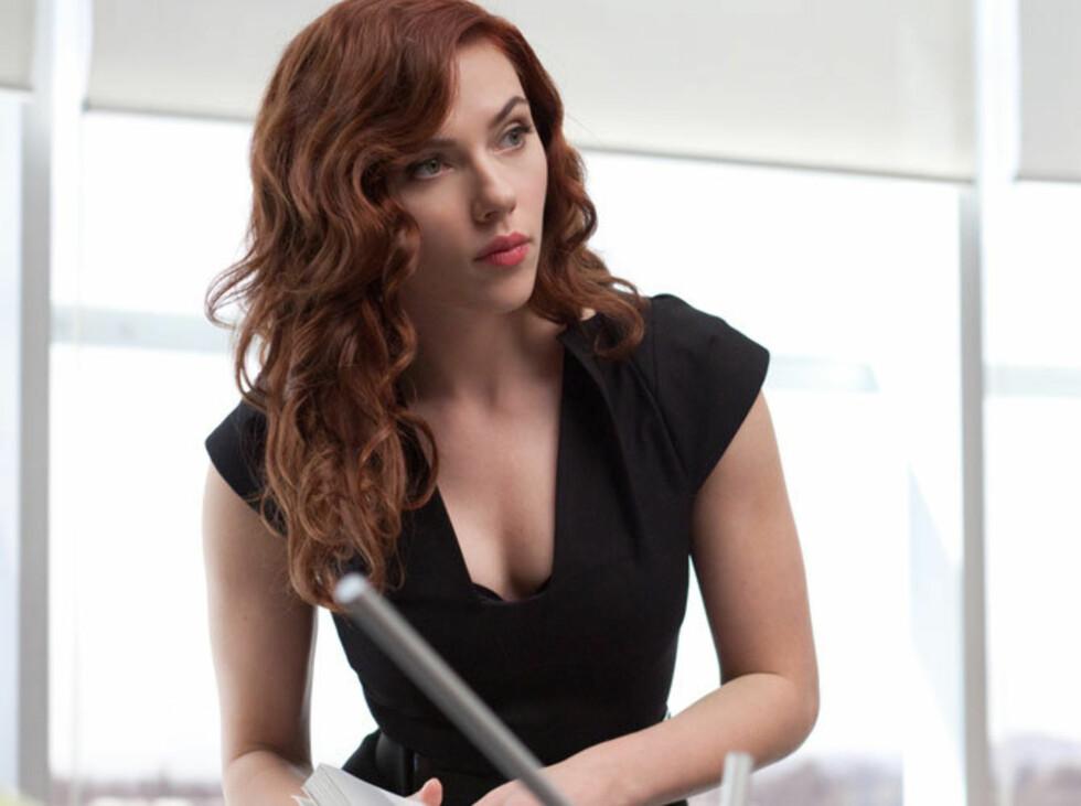 Johansson som den russiske spionen Black Widow i «Iron Man 2». Foto: Filmweb