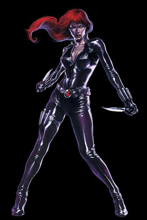 CATSUIT: Johansson har rollen som den russiske spionen Black Widow i «Iron Man 2». Foto: Wikipedia