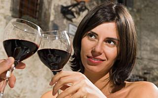 2 glass vin daglig = bedre sex
