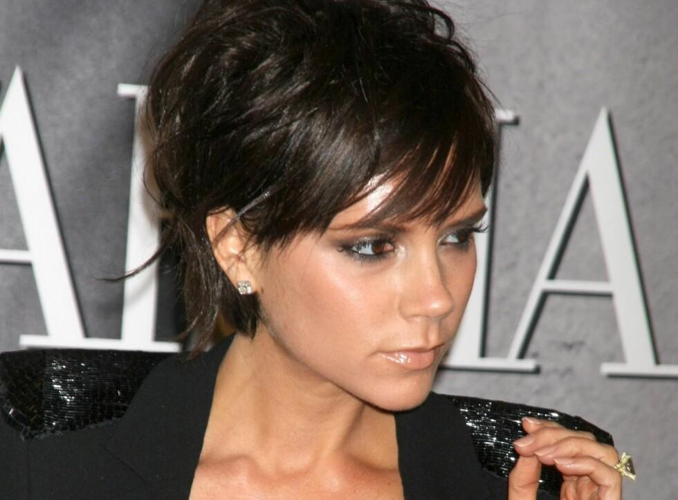 Victoria Beckham deltok selv da kampanjen ble lansert.  Foto: All Over Press