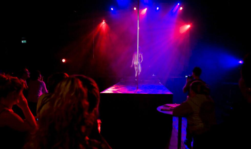 Artisten Mr.Frost på scenen.  Foto: Per Ervland