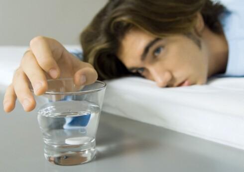 Et eksemplar av mannearten som er kraftig angrepet av manneinfluensa. Foto: colourbox.com