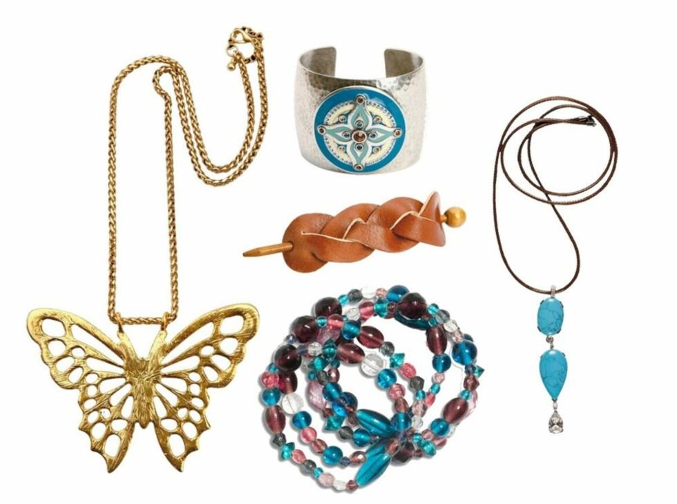 STASH SOM FUNKER: Sats på smykker som synes! Se informasjon om tingene lenger ned i saken. Foto: Produsenter