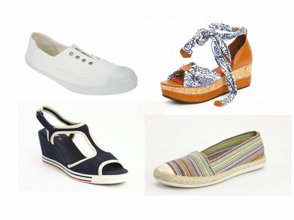 Like fine både til kjolen og shortsen. Se informasjon om skoene lenger ned i saken. Foto: Produsenter