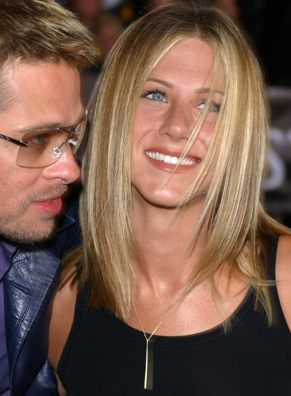 på 90-tallet hadde Jennifer Aniston både drømmerollen som Rachel og drømmemannen Brad Pitt. Ikke nok med det, hun hadde drømmehåret også.  Foto: All Over Press