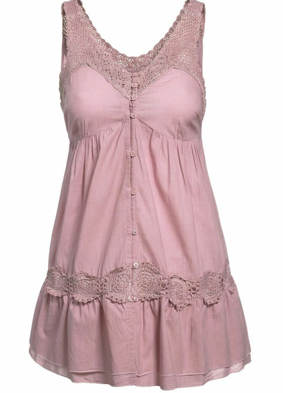 <strong>NOSTALGISK:</strong> Søt kjole med vintagepreg (kr 400, KappAhl).