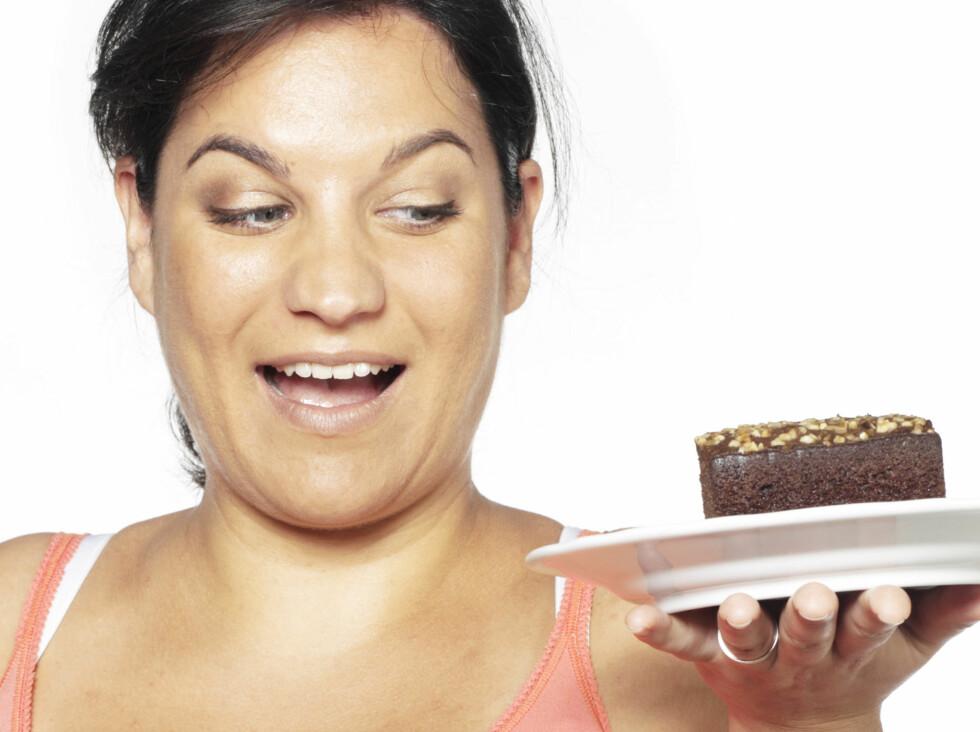 DYR FRISTELSE: Dette kakestykke vil koste deg 2000 kroner. Like fristet? Foto: Colourbox.com