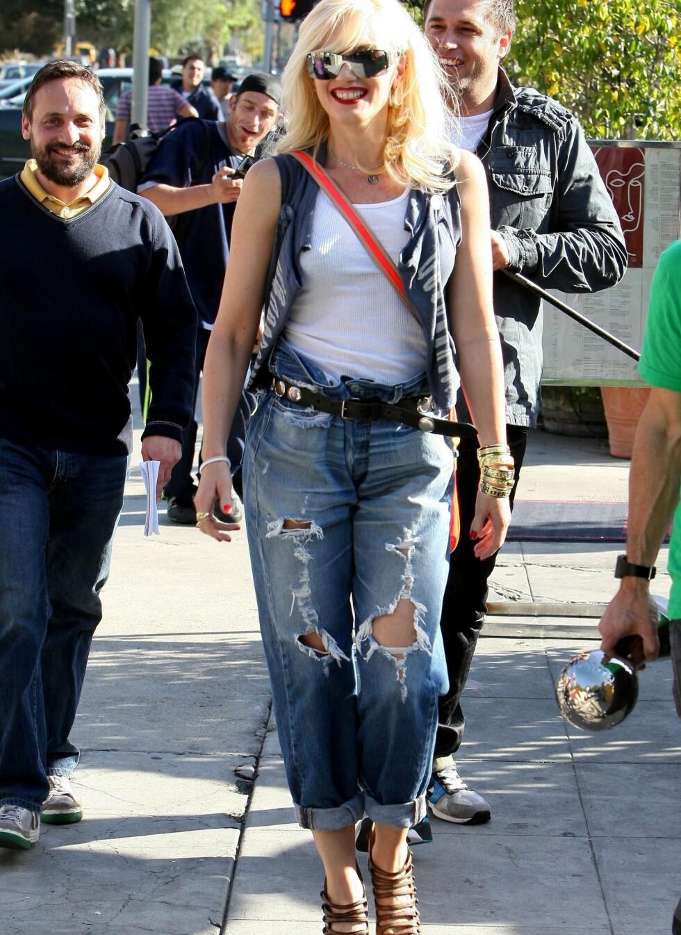 Popstjerne Gwen Stefani. Foto: All Over Press