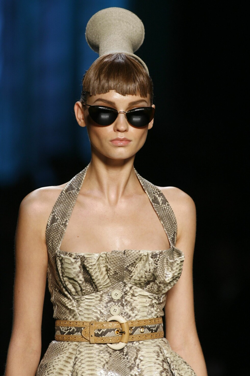 Dyrisk: og kul sommerkjole. (Dior Summer 2009.)  Foto: All Over PressAll Over Press