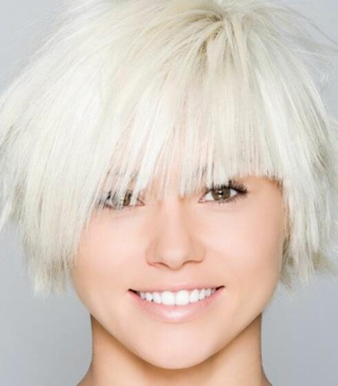 ASYMMETRI: En asymmetrisk klipp kan faktisk balansere ansiktstrekkene dine. Foto: Image Source