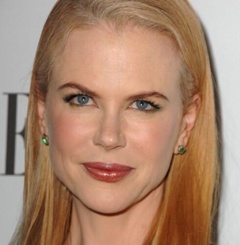 LITEN: Det er mange kvinner som ønsker seg en liten nese som Nicole Kidmans. Foto: All Over Press