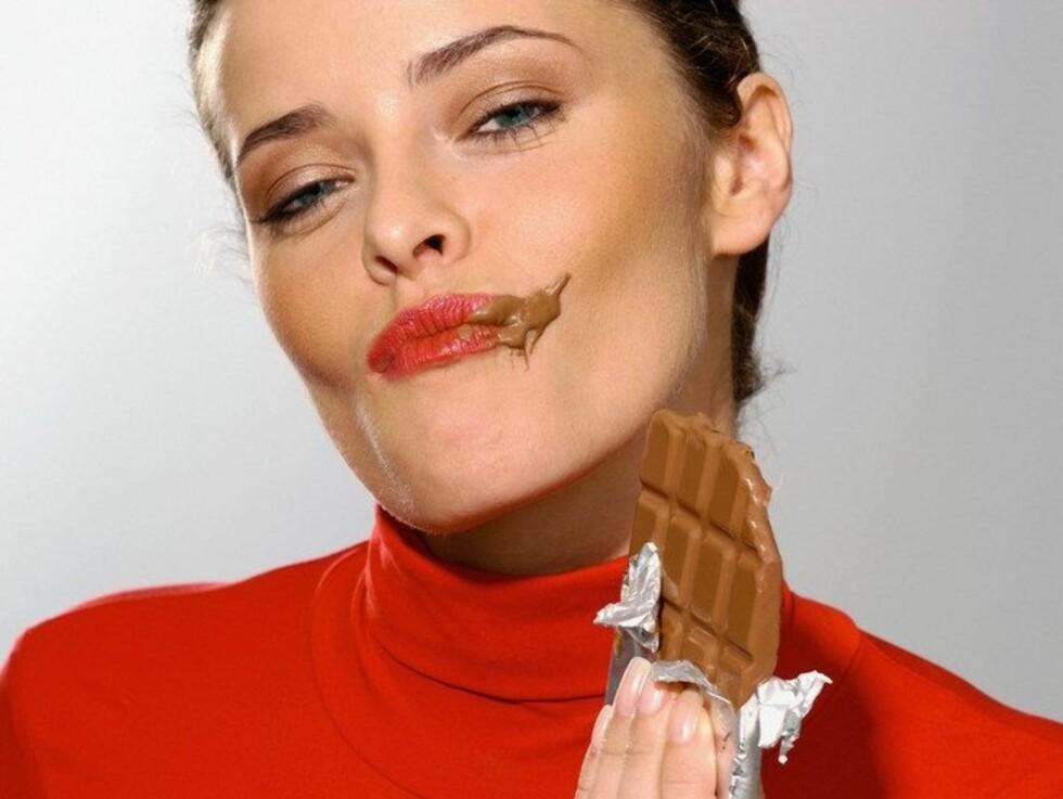 Spiser du mye sjokolade? Da kan dette hjelpe. Foto: Image Source