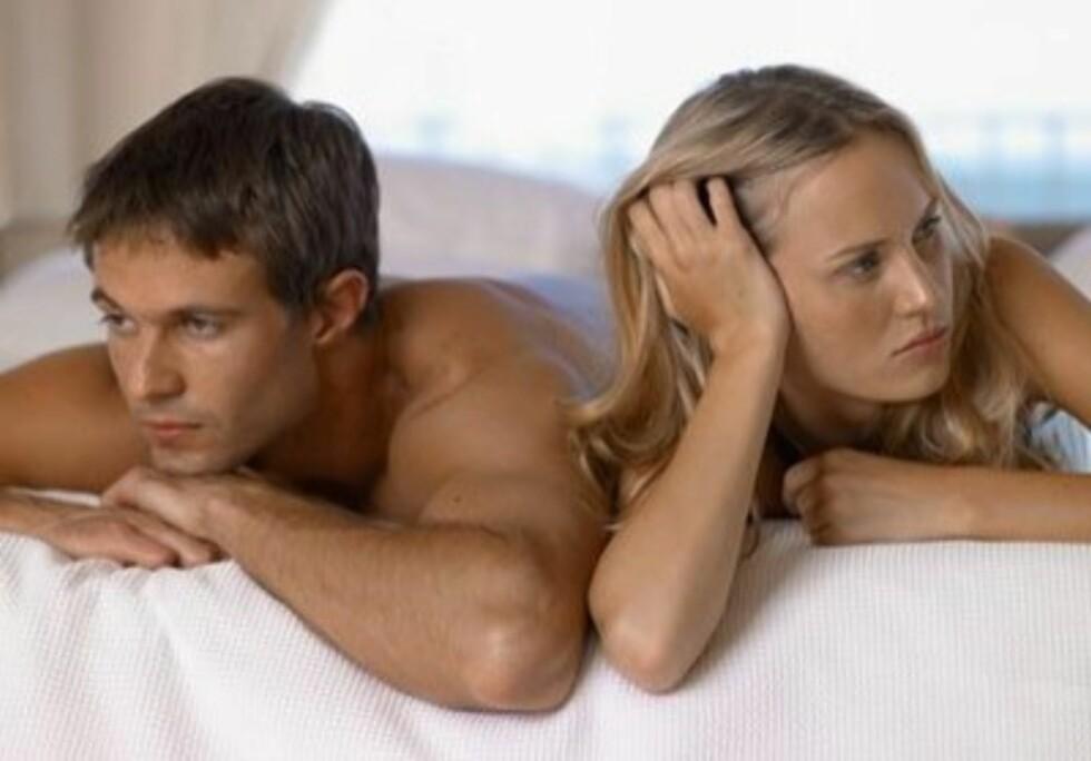 Ut av soverommet!I senga trenger du bare å sove. Sex kan du nemlig ha mange andre - og langt mer spennende - plasser. Ifølge Playboy.com bør du ha sex på disse 10 stedene før du sier takk for deg. Foto: www.imagesource.comAll Over Pr
