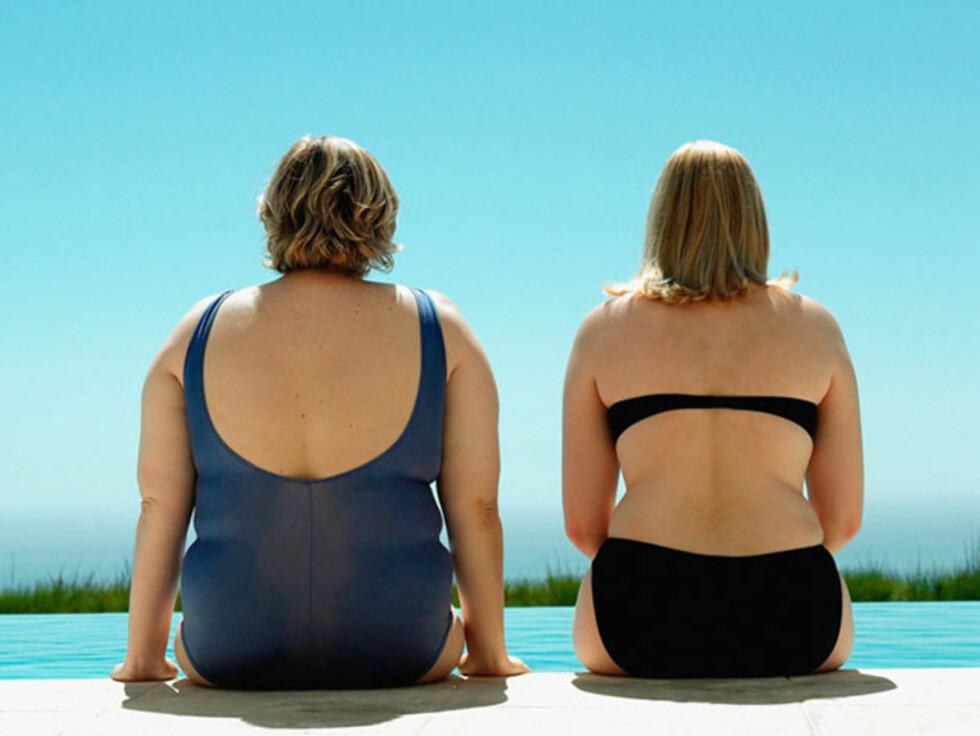 Overvektige kvinner har dobbelt så høy risiko for å miste jobben som sine slanke kolleger. Foto: www.imagesource.com