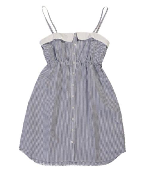 De korte babydoll-kjolene er like aktuelle i sommer også (kr 300, H&M).