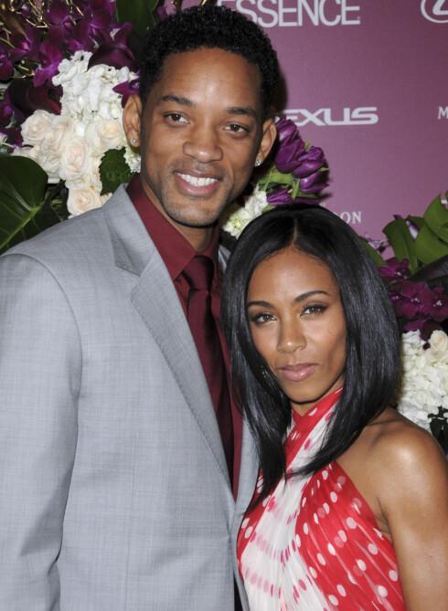 ...og det gjør visstnok skuespillerparet Will Smith og Jada Pinkett Smith også. Foto: All Over Press