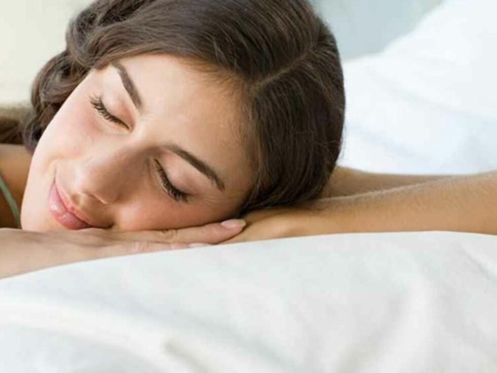 VIKTIG AKTIVITET: Å sove nok er det beste du kan gjøre for helsa. Så snork i vei med god samvittighet! Foto: Colourbox