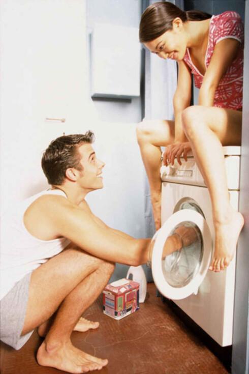 Det blir garantert hompetitten hompetatten dersom dere tar vibrasjonen til vaskemaskinen til hjelp.  Foto: www.imagesource.com