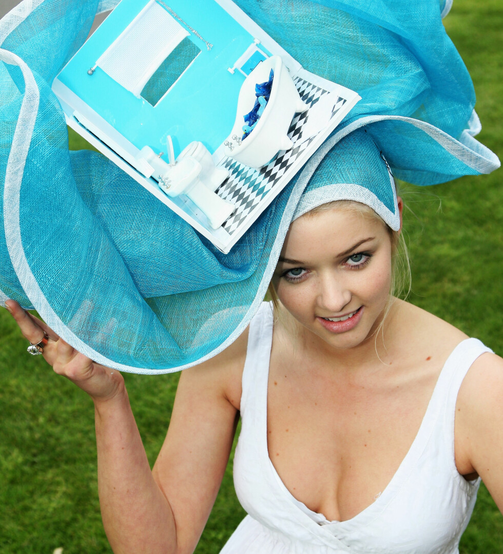 Turkis hatt stylet som et badeværelse. Foto: All Over Press