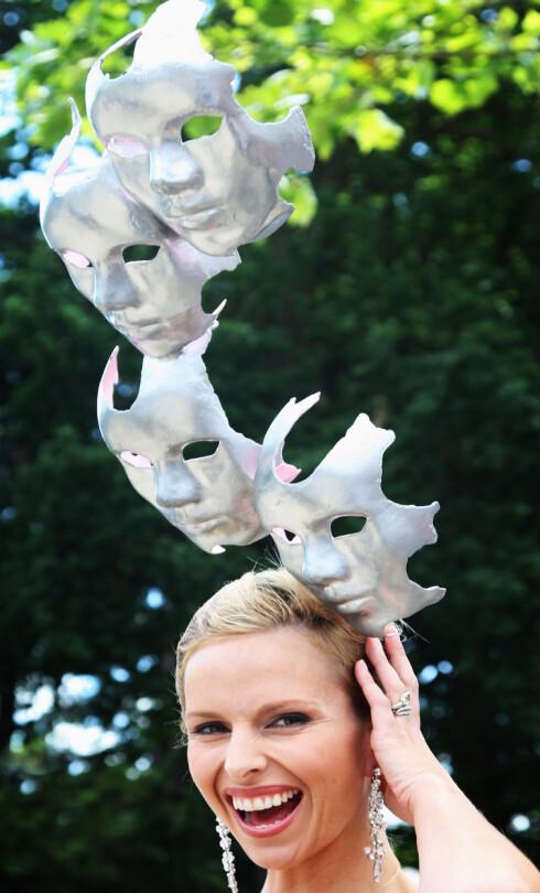 En av Ascot-festens aller høyeste og mest dramatiske hatt.