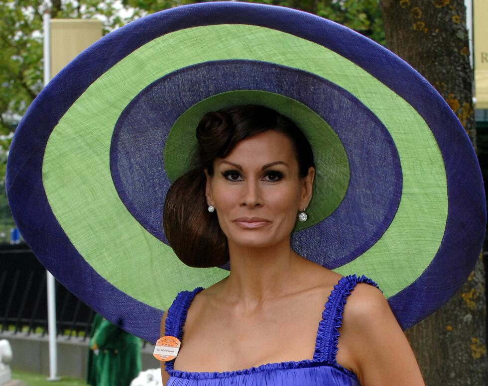I overdådig Audrey Hepburn-stil.  Foto: All Over Press