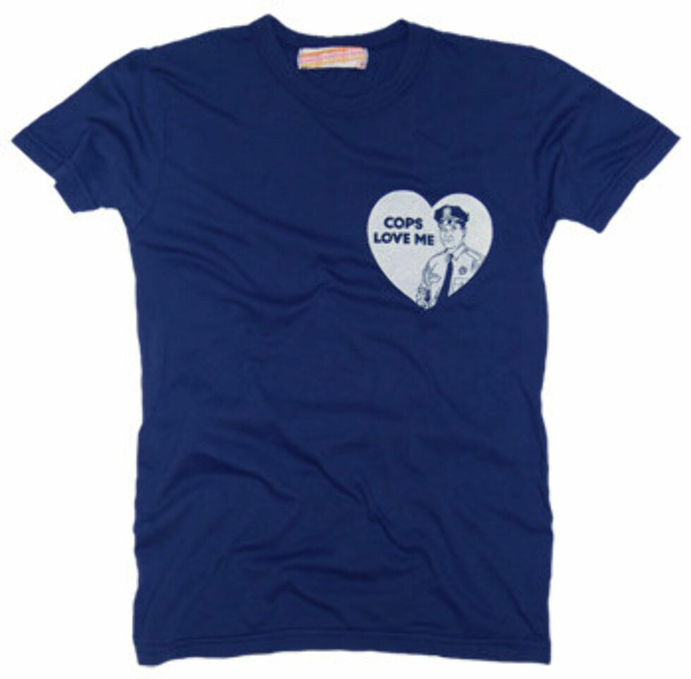T-skjorter med retro motiver og design kan aldri slå feil. Denne kan kjøpes på Palmercash.com, og koster 105 kroner.