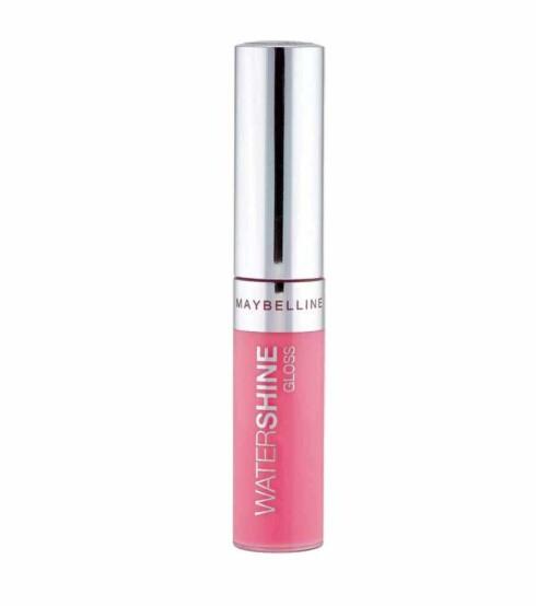 Lys rosa lipgloss fra Maybelline Watershine Gloss (kr 80).