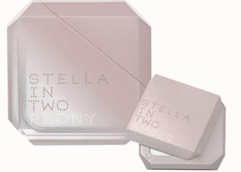 Stella in Two kremparfyme fra Stella McCartney er en todelt duft (kr 325/2 g og eau de toilette kr 345/25 ml).