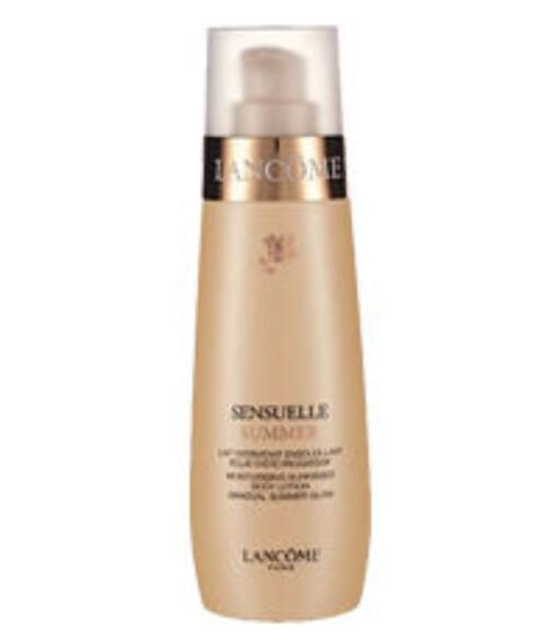 Lancôme Sensuelle Summer gir fuktighet og gradvis farge (kr 275/200 ml).
