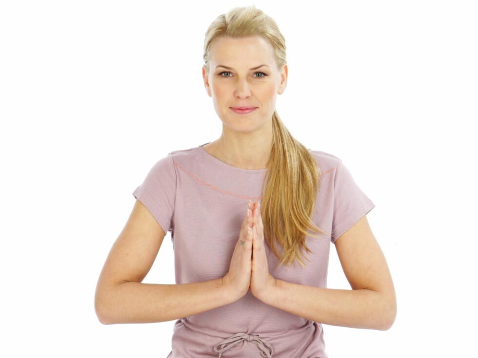 YOGAEKSPERT: TV-profil Vibeke Klemetsen er mangeårig yogaekspert, og har tidligere vært ekspert her på KK.no.
