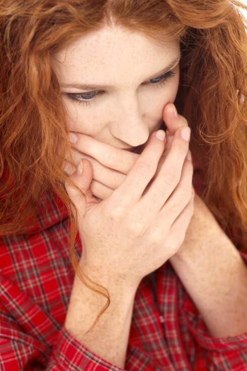Kvalme, hodepine, kviseutbrudd, trøtthet, tiltaksløshet og sandpapir i munnen. Dagen derpå er ikke til å spøke med. Foto: Colourbox