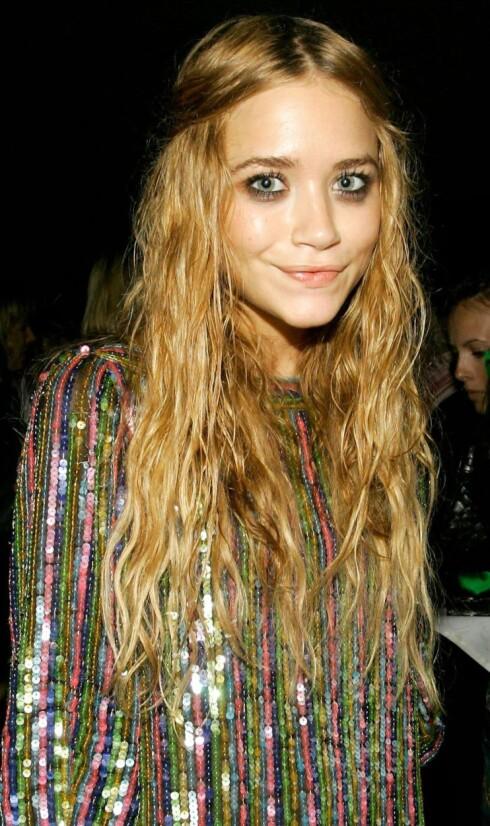 Tv-stjerne Mary-Kate Olsen har tatt den helt ut, og rufset det til.