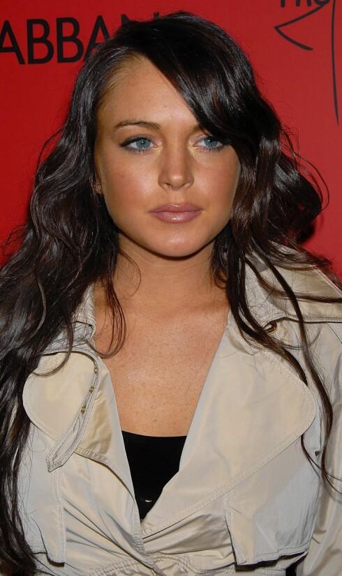 Skuespiller Lindsay Lohan har naturlig tykke bryn.