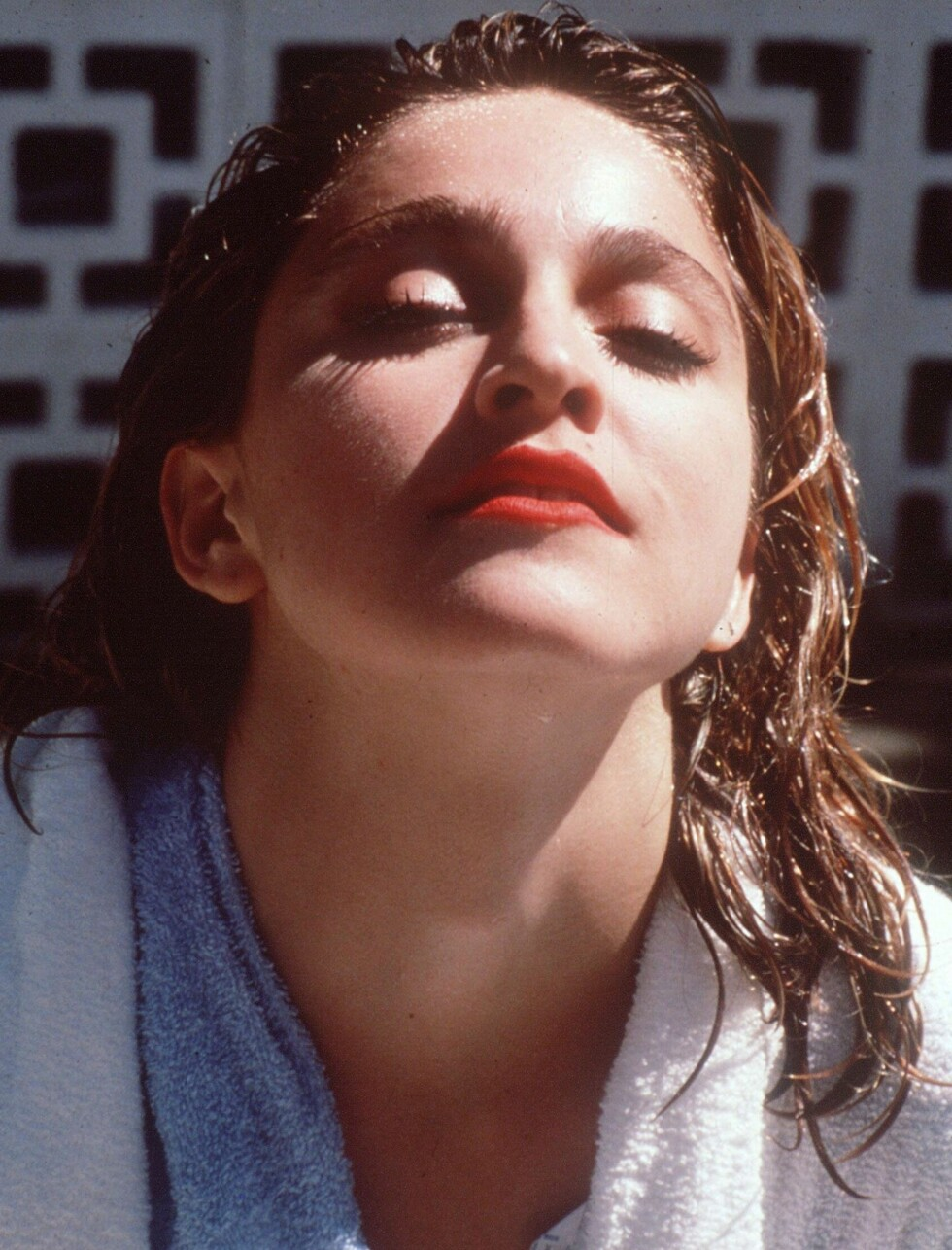 Madonna fotografert i 1985.