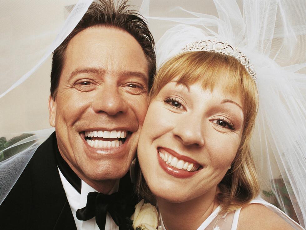 Dette nygifte paret har mye bedre økonomiske utsikter enn landets single. Foto: Creative Images/Getty