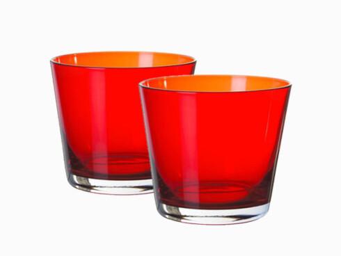 Glassene «Diod» rommer 25 cl (kr 20 pr. stk., Ikea).