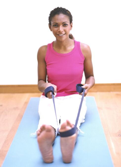 Treningsstrikk er kjekt å ha - et allsidig verktøy som gir motstand og forbedrer treningen.