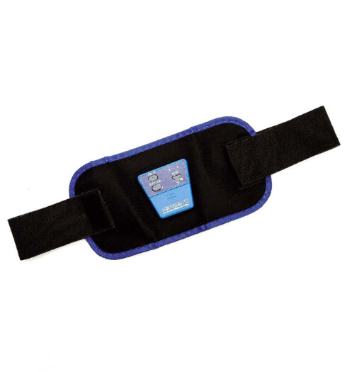 Bodybuilderbelte for trening av magemusklene. Denne drives av batteri og skal gi deg flott mage (kr 100, Josefssons).
