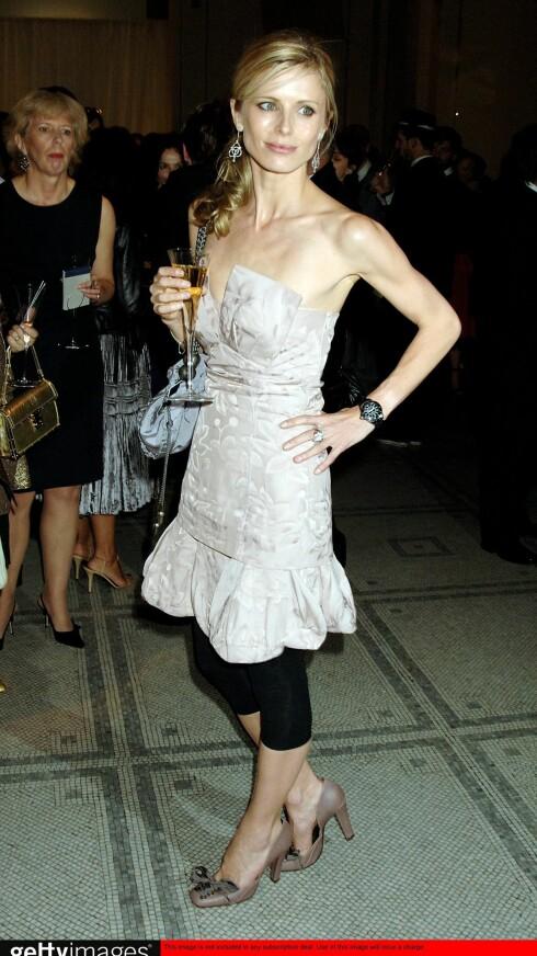 Laura Bailey fra British Fashion Awards.